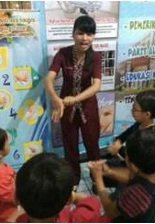 Edukasi Cuci Tangan Anak – anak