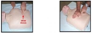 posisi tangan dan tubuh